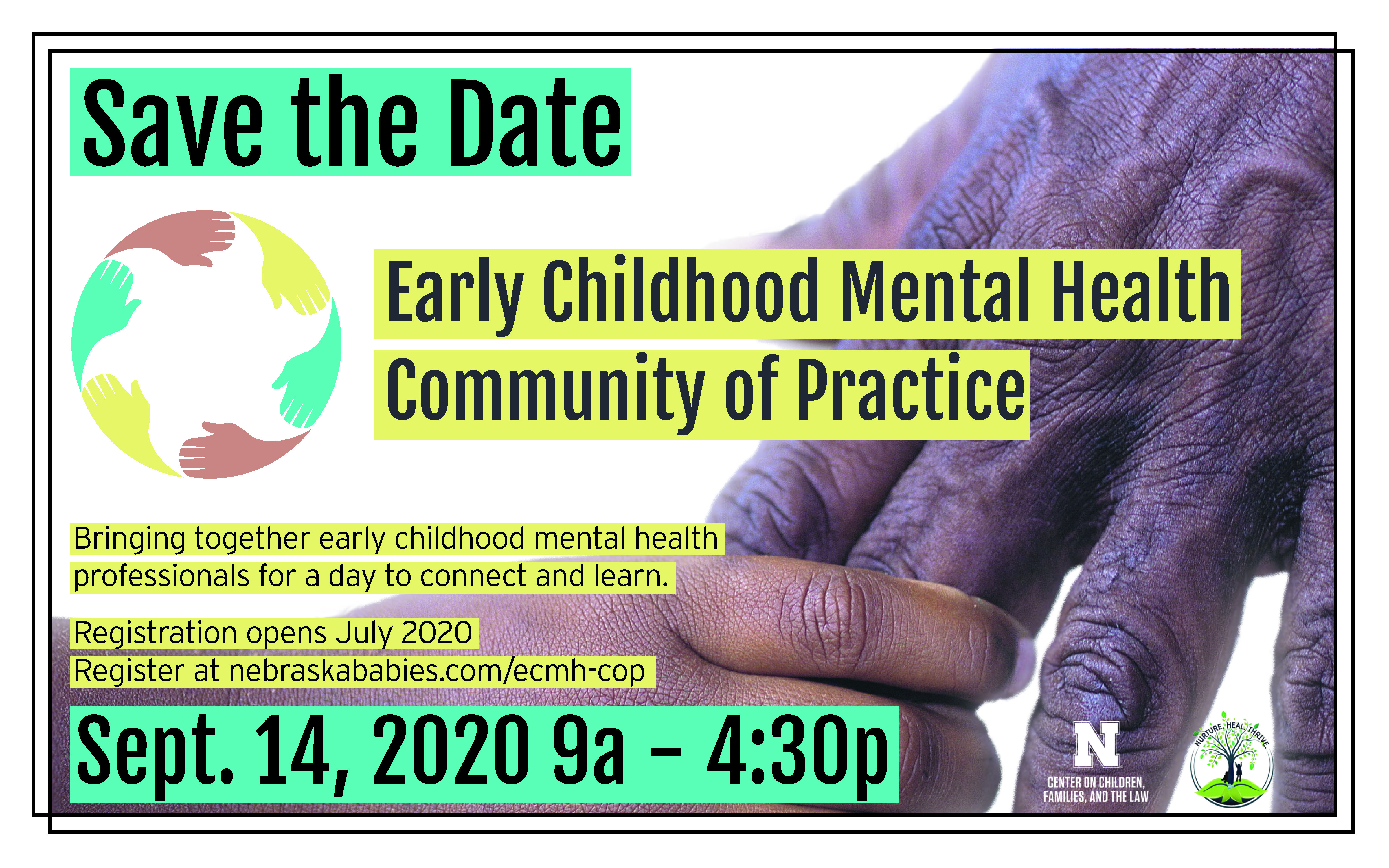 ECMH Community of Practice Save the Date