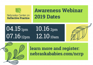 NCRP Awareness Webinars Flyer